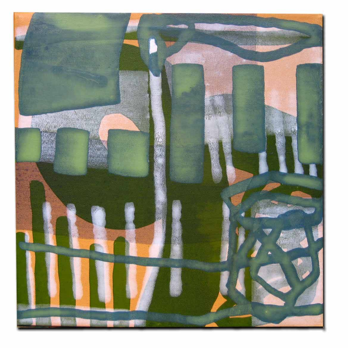 foggy autumn looping, Acryl a. Canvas, 2006